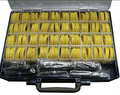£120 • Buy Critchley Cable Markers K Type Kit Cw 100xB/Y A-Z,0-9,+,/,-,) & Carriers & Ties