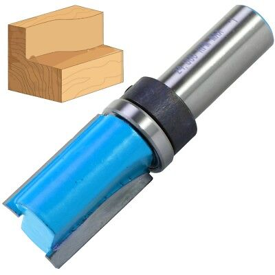 £11.11 • Buy 1/2  Steel Shank TEMPLATE ROUTER BIT 3/4  X 1¼  Imperial Twin Fluted Wood Cutter