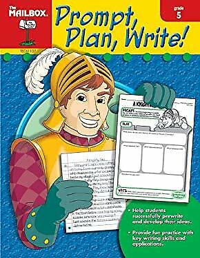 $6.10 • Buy Prompt, Plan, And Write : Grade 5 The Mailbox Books Staff