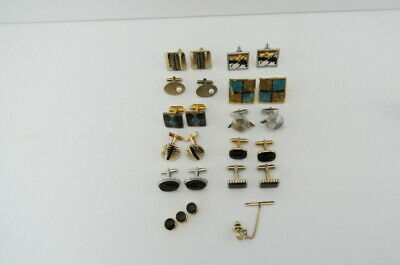 $ CDN15.09 • Buy Lot Of Men's Vintage Cuff Links 10 Sets And A Golf Club Tie Pin