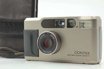 $ CDN1096.84 • Buy [Near MINT Case Strap] Contax T2 Titan Silver 35mm Compact Film Camera JAPAN