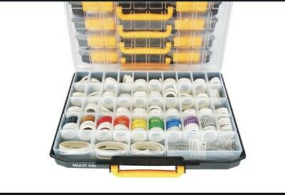 £65 • Buy 5600 PIECE COLOUR CODED CABLE MARKER KIT A-Z 0-9 Inc Tool 0.75mm² - 4.0mm²
