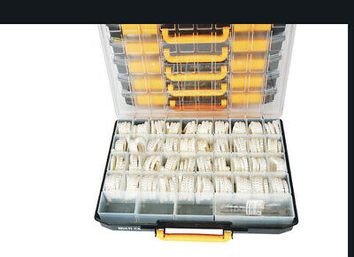 £129.99 • Buy 3200 PIECE A-Z CODED CABLE MARKER KIT A-Z 0-9 + Symbols Inc Tool 2.5mm² - 16mm²