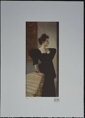 $ CDN178.51 • Buy Gustav Klimt 'Portrait Of Marie Breunig' 50 X 70 Cm Signed Limited Lithograph
