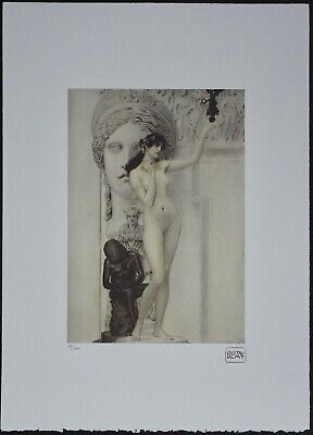 $ CDN178.51 • Buy Gustav Klimt 'Allegory Of Sculpture' 50 X 70 Cm Signed Limited Lithograph