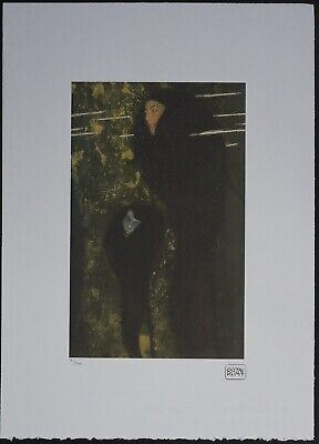 $ CDN178.51 • Buy Gustav Klimt 'Mermaids' 50 X 70 Cm Signed Limited Lithograph