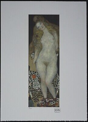 $ CDN178.51 • Buy Gustav Klimt 'Adam And Eva' 50 X 70 Cm Signed Limited Lithograph
