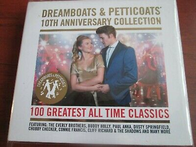 Various - Dreamboats & Petticoats - 10th Anniversary Collection [4 CD] NEW • 8.75£