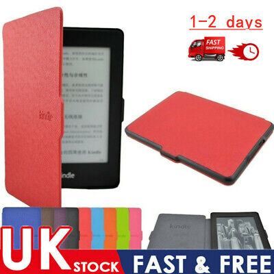 For Amazon Kindle Paperwhite 2018 Slim Smart Leather Flip Magnetic Cover Case HQ • 5.99£