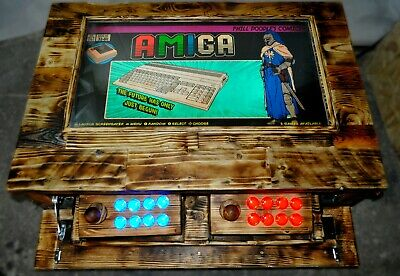 £590 • Buy Handmade Arcade Machine Coffee Table. 32  TV 7000 Games Wooden Retro Buttons