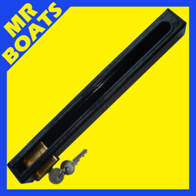 AU37.79 • Buy OUTBOARD MOTOR LOCK - Complete With BRASS LOCK - Up To 40hp Outboard FREE POST