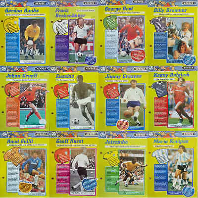 £6.75 • Buy Magic Football File Heroes Player Pictures / Posters - Various Teams