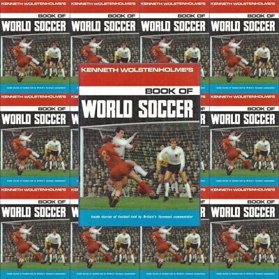 £2.85 • Buy Kenneth Wolstenholmes Book World Soccer Football Picture - Various Teams Players