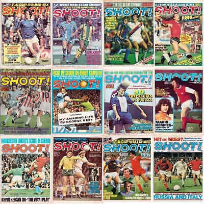 £2.70 • Buy Shoot Football Magazine Front Page Cover Picture - Various Teams Players Lot 05