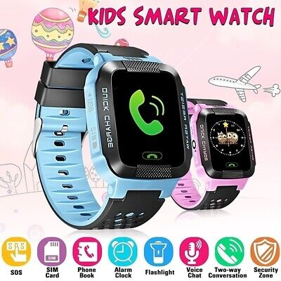 AU17.99 • Buy Kids Smart Watch Camera GSM SIM SOS Call Phone Game Watches For Boys Girls Gift