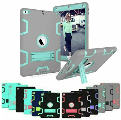 AU10.89 • Buy Heavy Duty ShockProof Kids Case Cover For IPad 5 6th 9.7 Mini 4 3 2 Pro 10.5 Air