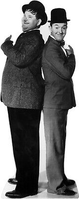 £28.60 • Buy Laurel & Hardy - Back To Back 71  Tall Life Size Cardboard Cutout Standee