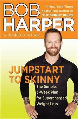 Skinny Rules: Jumpstart To Skinny : The Simple 3-Week Plan For Supercharged Weig • 5.50£