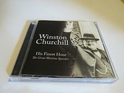 £6 • Buy WINSTON CHURCHILL - His Finest Hour: The Great Wartime Speeches - CD Album -2008