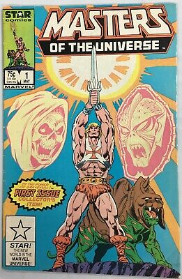 $19.75 • Buy Masters Of The Universe #1 Star Comics (1986)