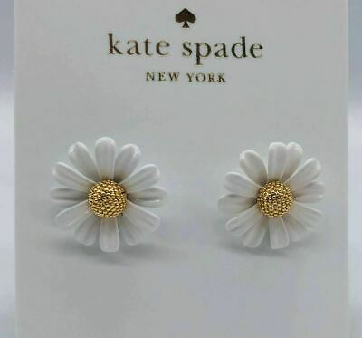 $ CDN23.80 • Buy Kate Spade White Daisy Studs Earrings