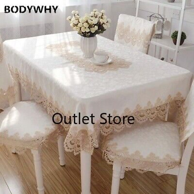 AU21.16 • Buy European Lace Tablecloth Table Cover Towel Textile Dining Table Runner Cloth