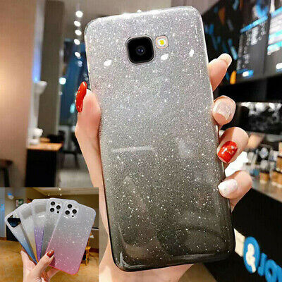 AU5.38 • Buy Bling Glitter Case For Samsung J4 J6 Plus A7 A8 2018 Clear Soft Phone Case Cover
