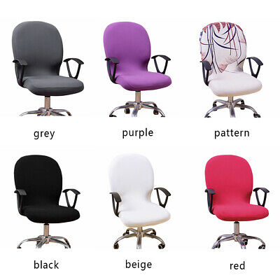 AU12.73 • Buy Chair Cover Office Computer Spandex Stretch Swivel Seat Rotate Swivel Chair🔥
