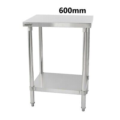 £145.99 • Buy Commercial 304 Stainless Steel Kitchen Food Prep Work Table Bench Top Various