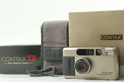 $ CDN1281.37 • Buy *Mint In Box* CONTAX T2 Point & Shoot 35mm Camera Carl Zeiss Sonnar  From JAPAN