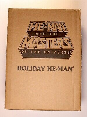 $94.99 • Buy Masters Of The Universe Holiday He-Man New In Box MOTU W/ Mailer Super7