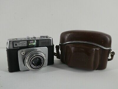 Vintage Ilford Sportsman Auto Rf With Built In Light Meter And Carry Case G8 • 40£