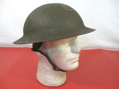 $229.99 • Buy WWI Era US Army AEF M1917 Helmet Complete With Liner & Chin Strap - Very Nice #1