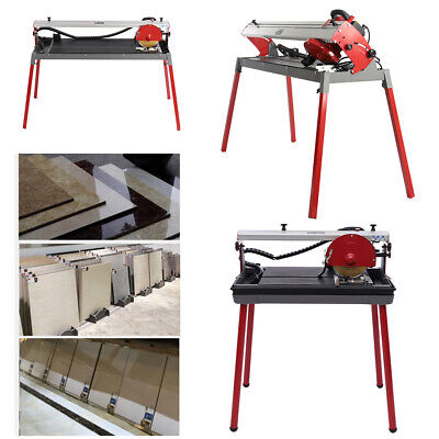 £189.95 • Buy 800W Tile Cutter Saw 17 25  Marble, Slate, Porcelain Tiles Wet Cutting And Stand