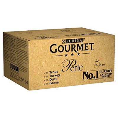 Gourmet Wet Cat Food Perle Country Medley, 96 Pouches, 96 X 85 G • 48.07£