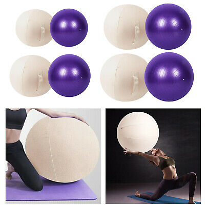 Stability Ball Chair Wrap Home Office Exercise Pregnancy Balance Ball Cover Yoga • 28.51£