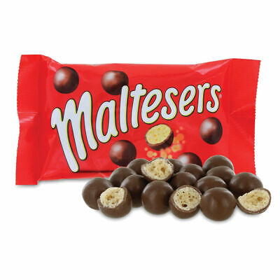 NEW! Mars 37g Maltesers No Artificial Colours Flavours Or Preservatives Pack Of • 46.55£