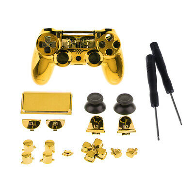 AU16.92 • Buy Full Case Cover Skin Shell Set For Sony PS4 Pro Controller Button Screwdriver