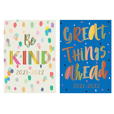 £3.25 • Buy 2021-22 Academic Year A5 Diary Week To View Casebound Mid Year Student Teacher