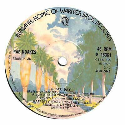£3.50 • Buy Rab Noakes - Clear Day - 7  Record Single