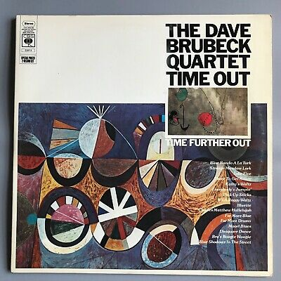 £30 • Buy THE DAVE BRUBECK QUARTET Time Out / Time Further Out 1976 CBS 22013 2 X VINYL LP