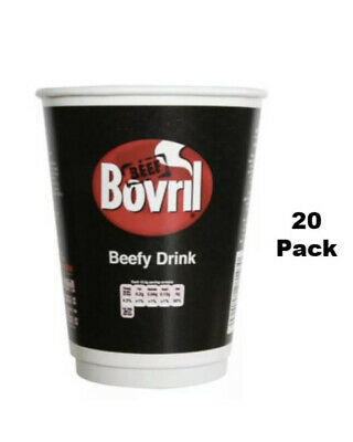 £12.95 • Buy Bovril Beefy Drink 2 Go 12oz Cups (Pack Of 20 Cups)