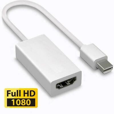 Mini Display Port DP Thunderbolt To HDMI Adapter Cable For Macbook Pro Air IMac • 3.95£