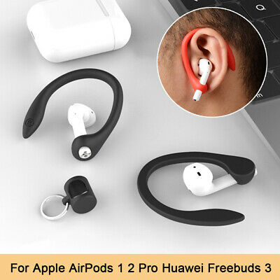 AU3.21 • Buy Ear Hook Secure Fit Hooks Silicone Anti-lost Earhooks For Apple AirPods 1 2 Pro