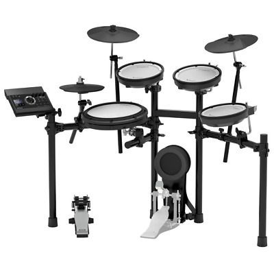 AU2887.58 • Buy Roland TD-17KV Electronic Drum Kit Amp Speaker Stool Packed With EXTRAS