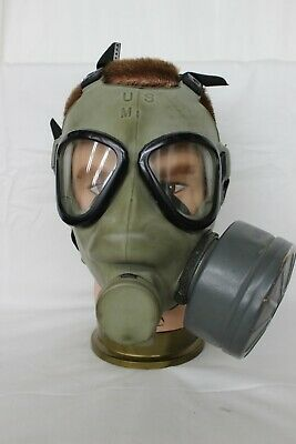 $45 • Buy Vintage MPA1 Us Military Army Marines Field Protective Mask  W/Case