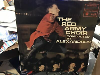 £6.34 • Buy THE RED ARMY CHOIR - Conducted By Alexandrov LP Vinyl Record Album MFP2089