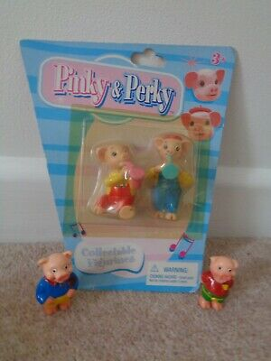 £12.99 • Buy Pinky And Perky Figures Collectable Figurines Sealed On Card & 2 Loose