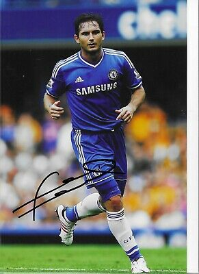 £39.99 • Buy STUNNING FRANK LAMPARD SIGNED CHELSEA FC 12x8 GLOSSY PHOTO2