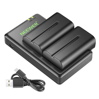 AU29.99 • Buy Neewer NP-F550 Battery Charger Set For Sony NP F970,F750,F960,F530,F570
